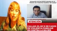 En el Callao un 80 % de casos de violencia familiar es contra la mujer