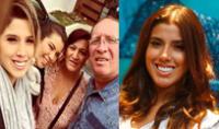 Yahaira Plasencia disfruta de su fin de semana largo junto a su familia.