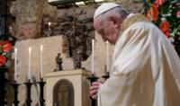 Misa EN VIVO del Papa Francisco por Jueves Santo.