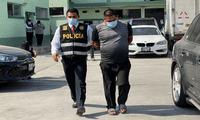 Banda de delincuentes fue capturada por la PNP.