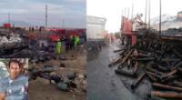 Accidente fatal en la carretera en jueves santo
