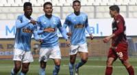 Los equipos peruanos de Sporting Cristal y Universitario listos para el sorteo del 9 de abril.