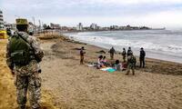 Las playas, así como otras actividades, han sido suspendidas durante la cuarentena por Semana Santa. Medida va hasta el 4 de abril.