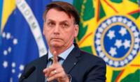 """El presidente también aseveró que """"Brasil se encuentra entre los 10 países, en números absolutos, en los que más se aplica la vacuna""""."""