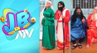El programa de humor, liderado por Jorge Benavides, compartió imágenes de la parodia por Semana Santa vía Instagram.