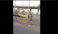 Auto arrolla a supuesto ladrón extranjero