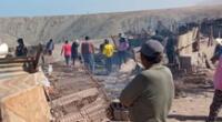 Granja se incendia en Ilo mueren 20 animales.