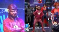 Flash sorprendió bailando festejo en JB en ATV.