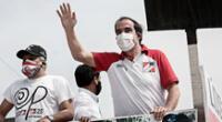 el mayor resultado lo tendría ante la lideresa de Fuerza Popular, Keiko Fujimori, con un 50 %, frente a un 20 %.