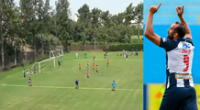 Alianza Lima se prepara para el encuentro ante Municipal y Hernán Barcos empieza a ser figura.