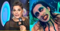 Giovanna Valcárcel se pronuncia por qué  no emitieron la nota de 'Marilyn Manson'.