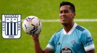 Renato Tapia indicó que está en su mejor momento en el Celta de Vigo.