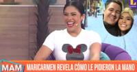 Maricarmen Marín revela que tiene 7 años de relación con Sebastián Martins.