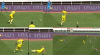 Insólita jugada en la Liga de Marruecos se hizo viral en las redes sociales.