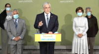 Sebastián Piñera se pronunció ante el incremento de casos de coronavirus en Chile.