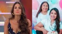 Rebeca Escribens le manda mensaje de solidaridad a Tula Rodríguez.