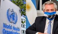 """OMS sobre contagio por COVID-19 del presidente de Argentina: """"Vacunados pueden infectarse""""."""