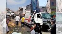 Una personas perdió la vida en accidente vehicular en El Agustino.