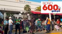 Modalidades para conocer si eres beneficiario del Bono 600