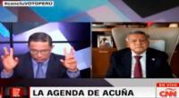 César Acuña y una entrevista para el olvido.
