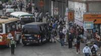 Los disturbios se registraron en el paradero Teléfono, en Ventanilla