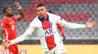 Mbappé abre el camino del gol para PSG ante Bayern Múnich por Champions League