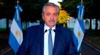 El presidente de Argentina Alberto Fernández dio positivo al COVID-19 y guarda aislamiento obligatorio.