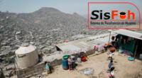 El SISFOH provee de información a las Intervenciones Públicas para que identifiquen a los potenciales usuarios.