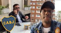 Luis Advíncula se acerca a Boca Juniors y video emociona a hinchas.