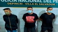 Los detenidos en Depincri Villa El Salvador