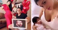 Pamela Franco compartió un hermoso video junto a su pequeña.
