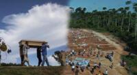Fallecidos por COVID-19 fueron enterrados en fosa común de Iquitos.