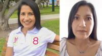 Candidata Marité Bustamante también pidió disculpa a sus compañeros de Juntos por el Perú.