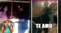 Toño Centella confirma reconciliación con su esposa dándose tremendo beso [VIDEO]