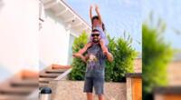 El cantante Ezio Oliva felicita a su hija Antonia por sus cuatro años de vida.