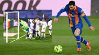 Real Madrid vs. Barcelona: Revive el gol olímpico que casi marca Lionel Messi.