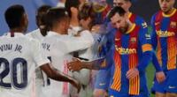Real Madrid vs. Barcelona: merengues ganan 2-1 a Culés, con Messi, por LaLiga