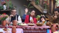 Mendoza, su esposo, Jorge Millones, sus hijos y otros familiares desayunaron en la casa de sus padres en Andahuaylillas, en la provincia Quispicanchi, Cusco.