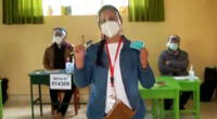 Elecciones 2021: Verónika Mendoza emite su voto en colegio de Cusco [VIDEO]