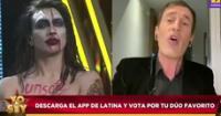 """Mauri Stern sobre imitador de 'Marilyn Manson': """"Hay que poner los pies en la tierra"""""""