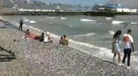 Usuarios fueron vistos en playas de la Costa Verde en domingo de Elecciones.