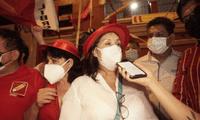 Candidata a la vicepresidencia de Perú Libre no descarta alianzas con partidos políticos.