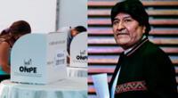 Evo Morales se pronuncia sobre los resultados de las elecciones 2021
