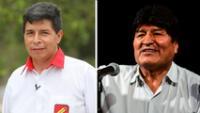 """Evo Morales destacó triunfo de Pedro Castillo en primera vuelta: """"Ganó con nuestra propuesta"""""""