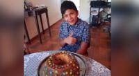 Un menor de 14 años, identificado como Luis Samuel Caballero Quispe, fue reportado como desaparecido.