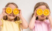Prepara ricos jugos de fruta con naranja o mandarina.
