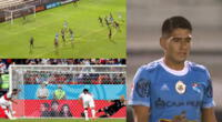Penal errado de Irven Ávila con Sporting Cristal llamó la atención en las redes sociales.