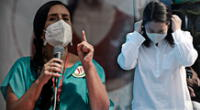 Verónika Mendoza criticó que la lider del partido fujimorista destaque al Gobierno dictatorial de su padre y avale los crímenes de lesa humanidad cometidos durante sus dos periodos en el poder.