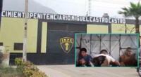 Investigarán a presos y a la INPE por casos de corrupción dentro de penal.