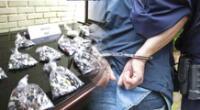 Dictan prisión contra líder de una banda delincuencial dedicada a la microcomercialización de drogas